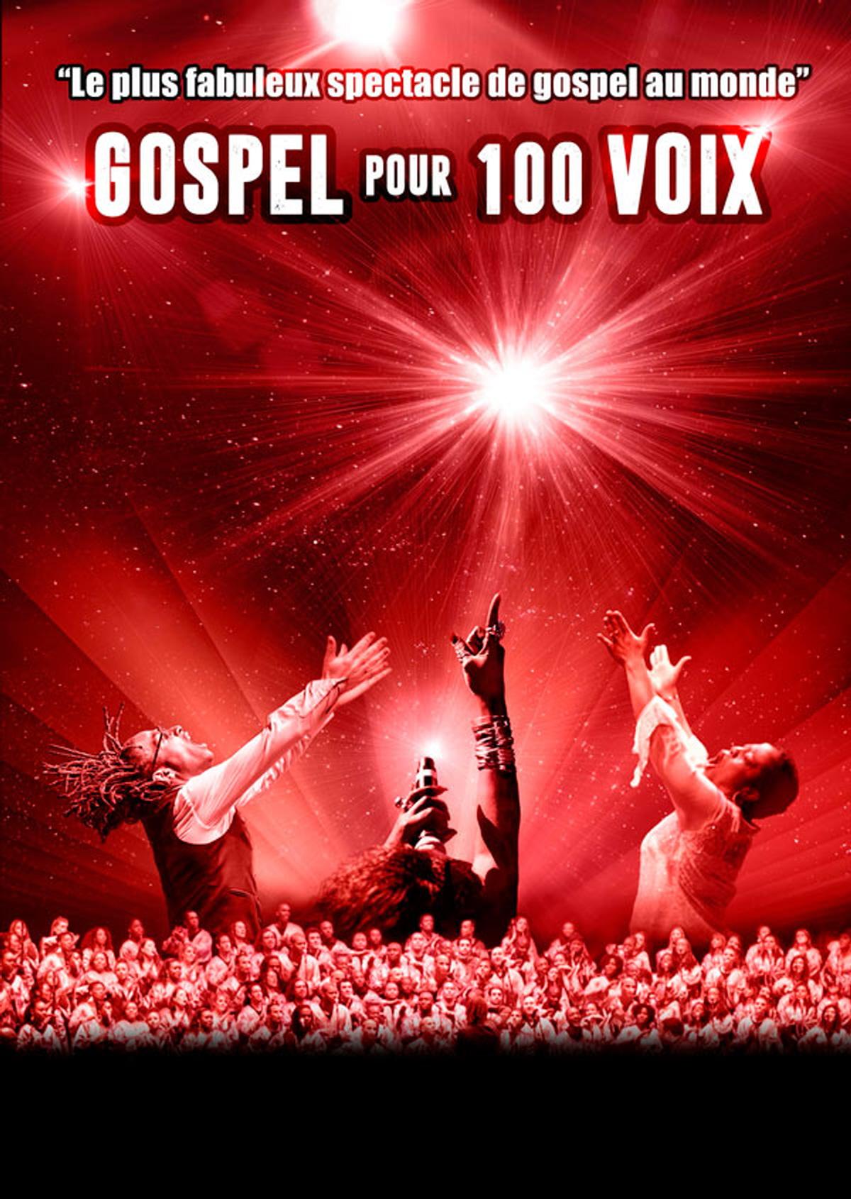 Billets Gospel Pour 100 Voix (Le Liberte - Rennes)