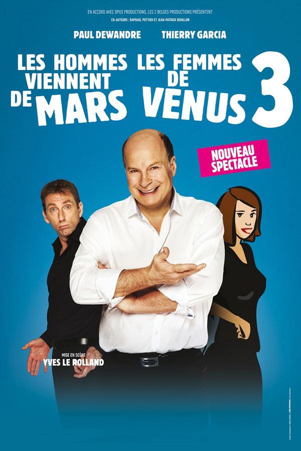 Billets Les Hommes Viennent De Mars (Cité des Congrès Nantes - Nantes)