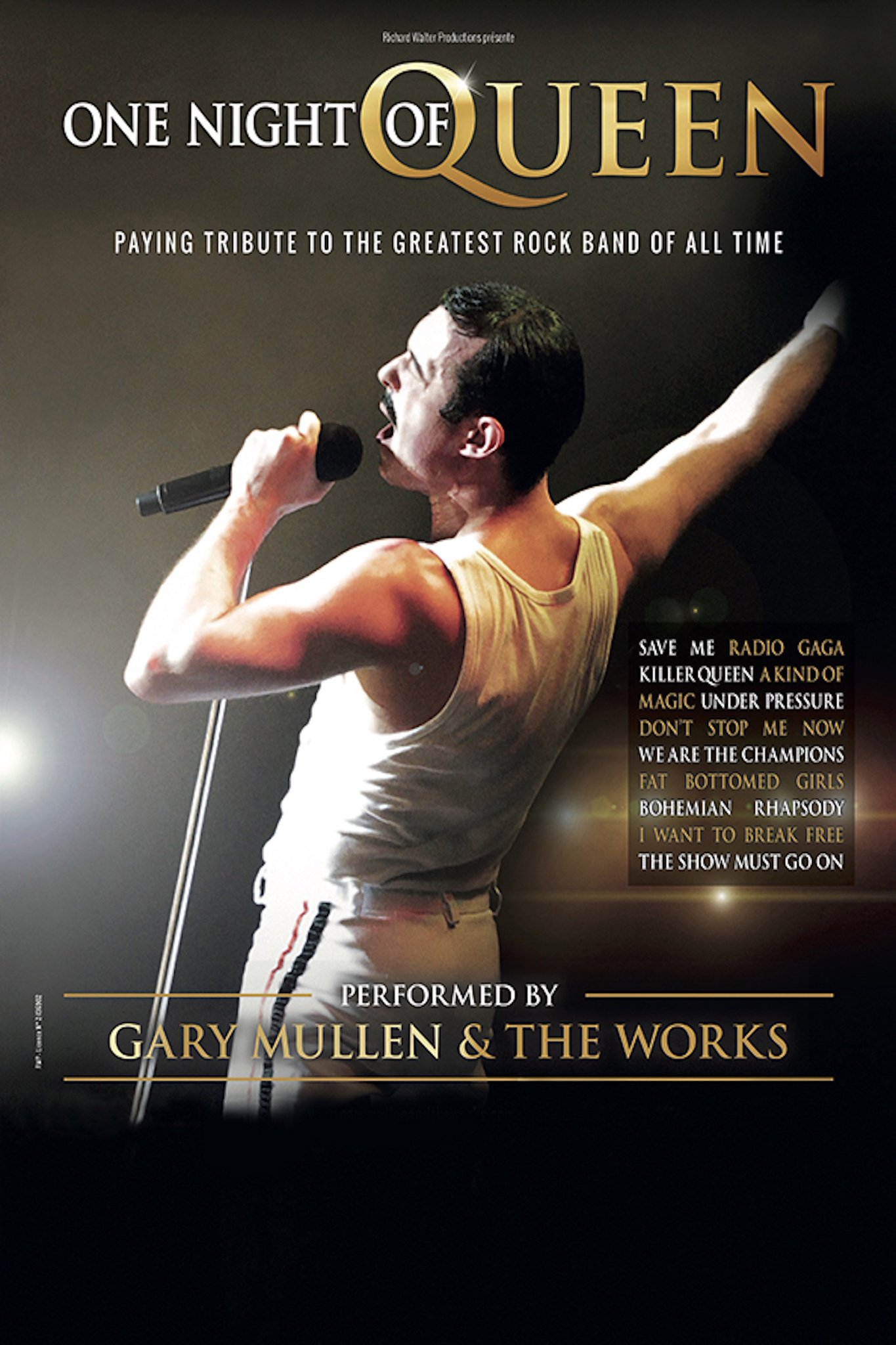 One Night of Queen at L'amphitheatre Tickets