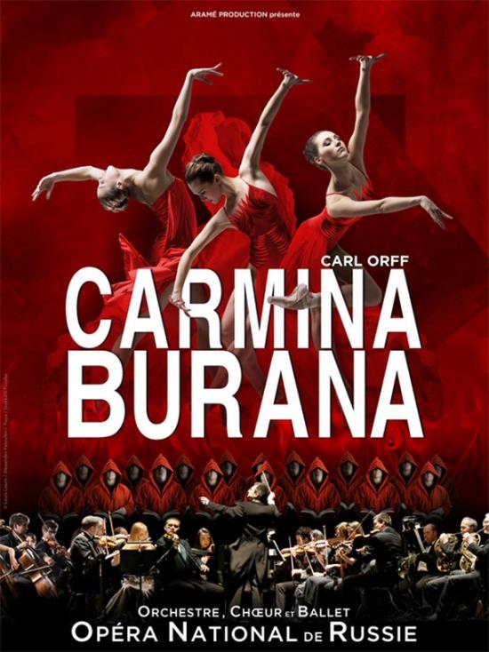 Billets Carmina Burana (Le Liberte - Rennes)