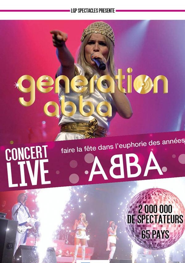 Billets Generation ABBA (Zenith Rouen - Rouen)