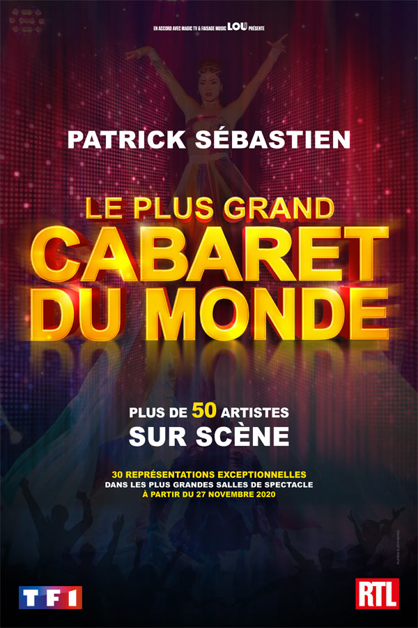 Billets Le Plus Grand Cabaret Du Monde (Zenith Caen - Caen)