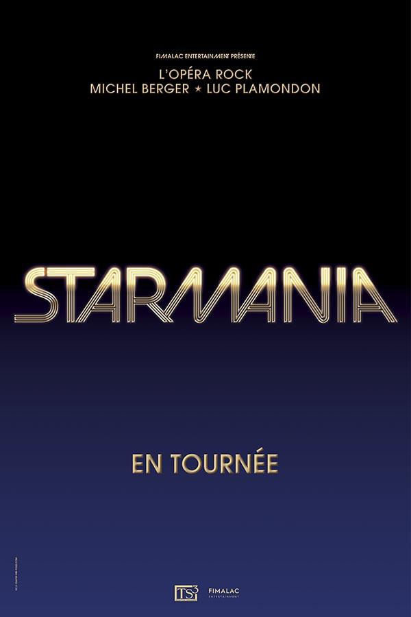 Billets Starmania - Avant-premiere (Palais Nikaia - Nice)