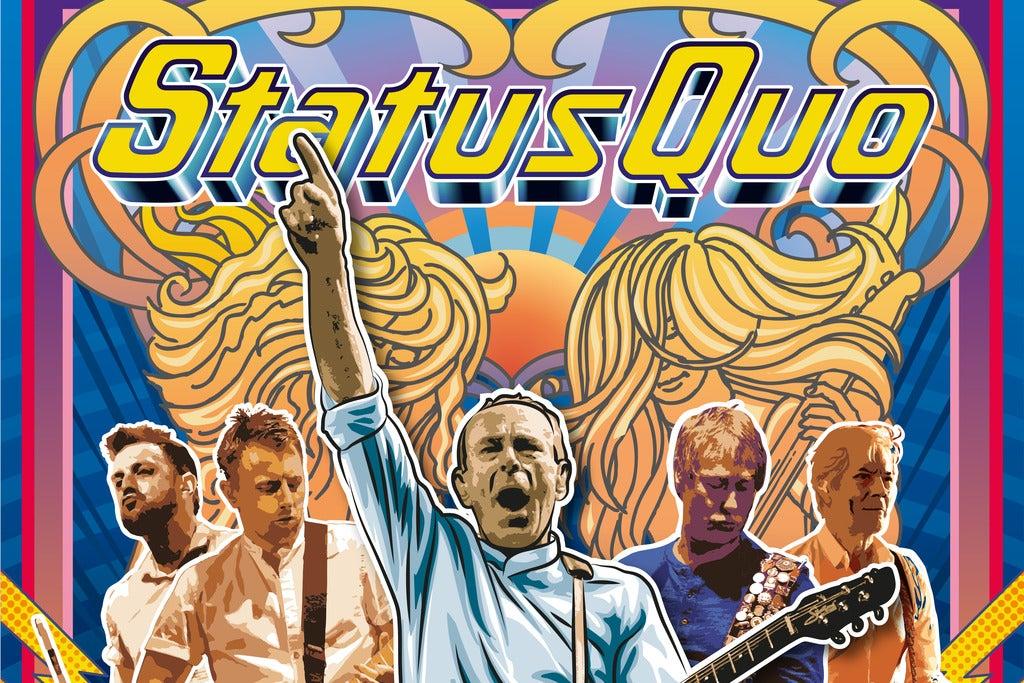 Status Quo at GETEC Arena Tickets