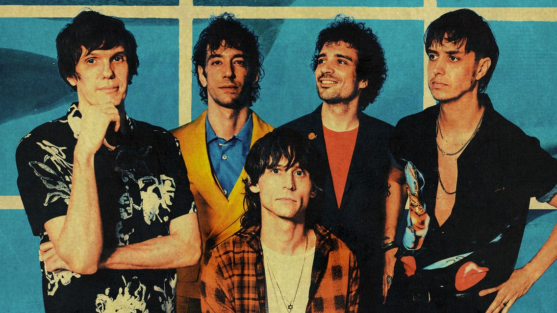 Billets The Strokes