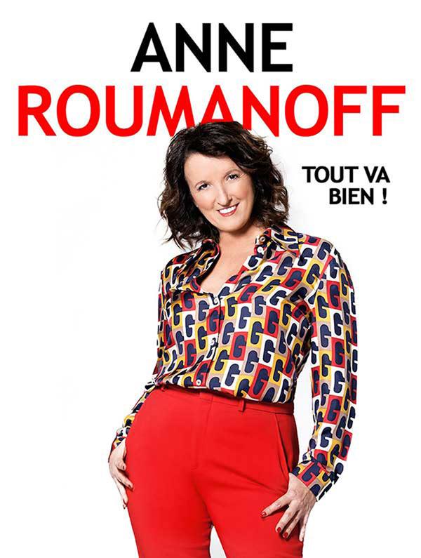Billets Anne Roumanoff (Theatre Sebastopol - Lille)