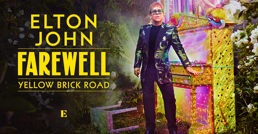 Billets Elton John - Farewell Yellow Brick Road (Palau Sant Jordi - Barcelone)