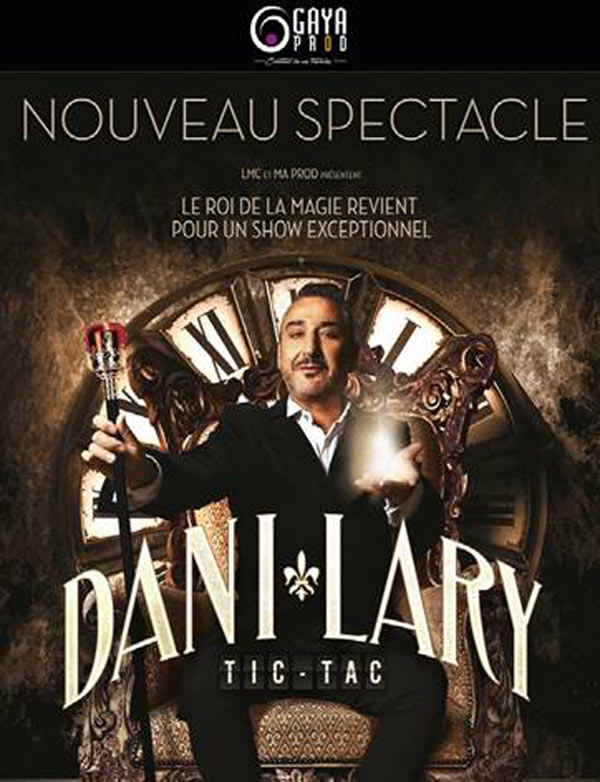 Billets Dani Lary (Casino Barriere Toulouse - Toulouse)