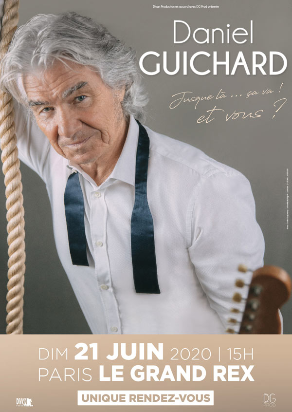Billets Daniel Guichard (Le Grand Rex - Paris)