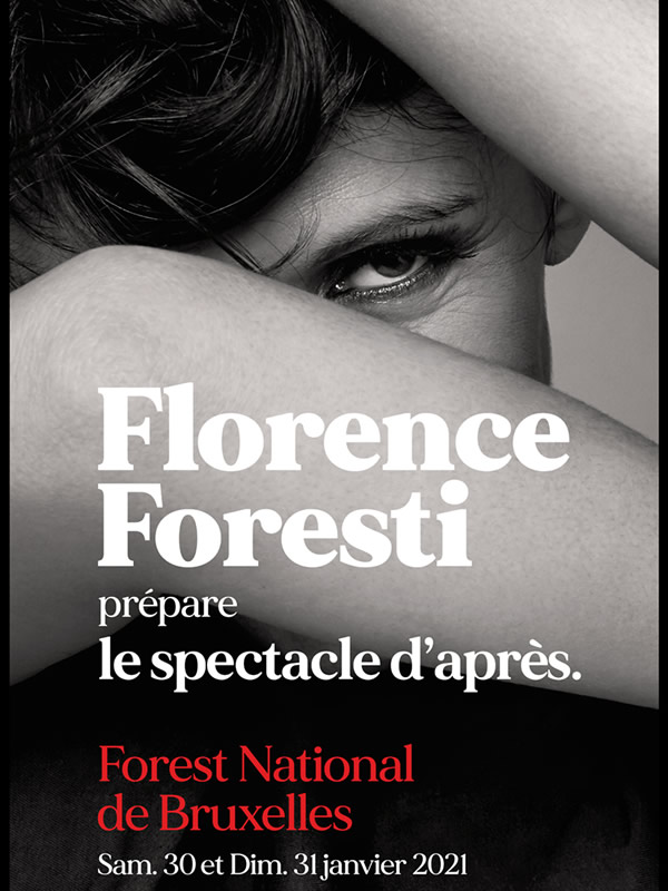 Billets Florence Foresti (Forest National - Bruxelles)