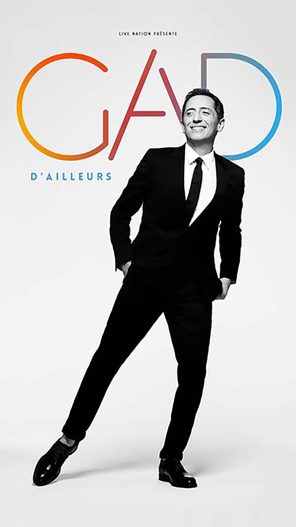 Billets Gad Elmaleh (Palais des Sports - Dome de Paris - Paris)