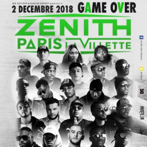 Billets Game Over (Zenith Paris - Paris)
