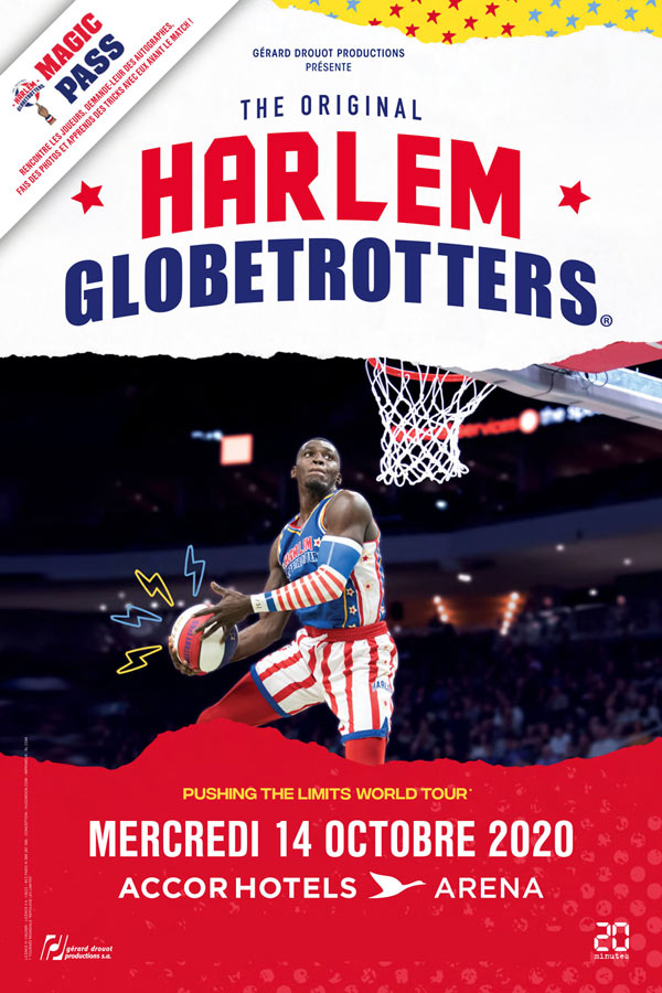 Harlem Globetrotters at Accor Arena Tickets