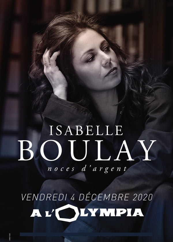 Billets Isabelle Boulay (Olympia - Paris)