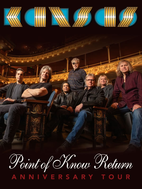 Billets Kansas - Point Of Know Return Anniversary Tour (Koninklijk Theater Carré - Amsterdam)