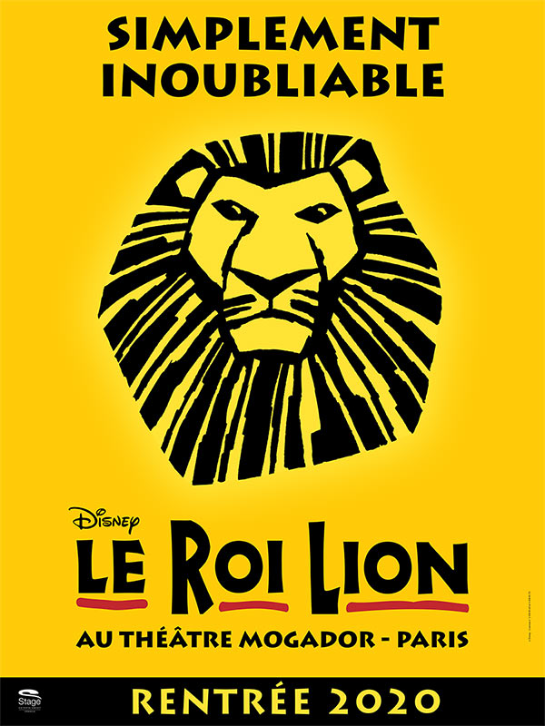Billets Le Roi Lion (Theatre Mogador - Paris)