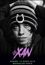 Billets Lil Xan (Bataclan - Paris)