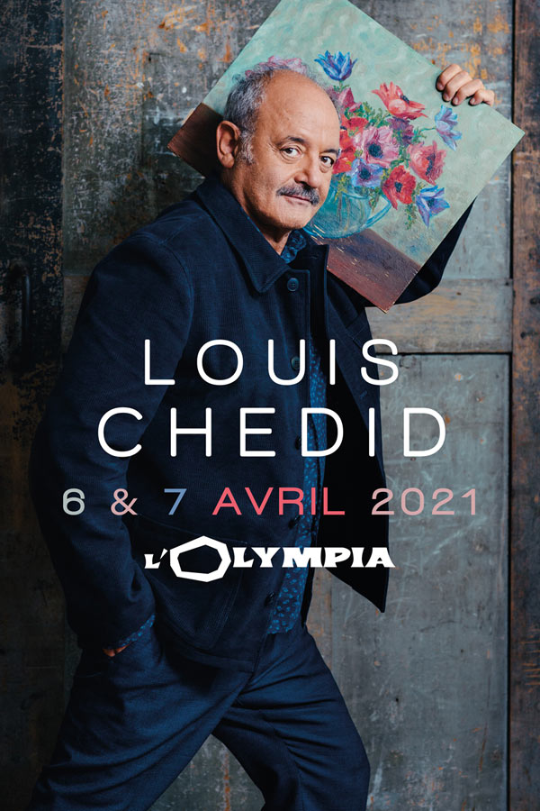 Billets Louis Chedid (Olympia - Paris)