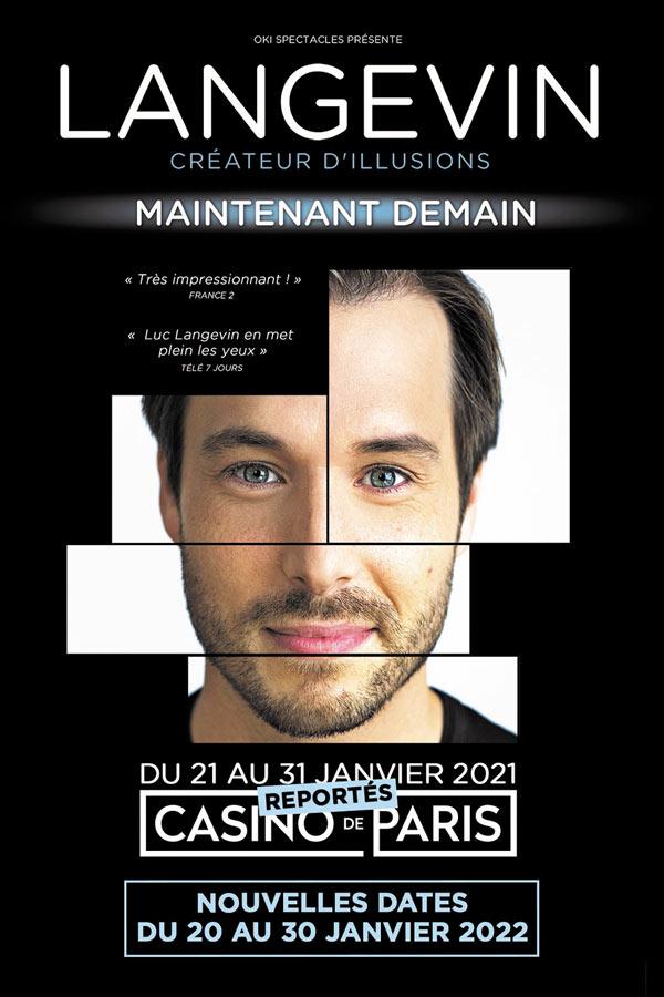 Billets Luc Langevin (Casino de Paris - Paris)
