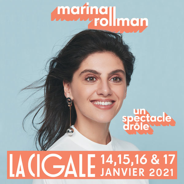 Billets Marina Rollman (La Cigale - Paris)