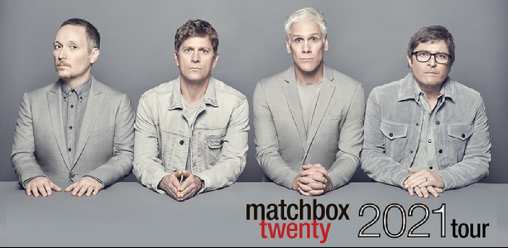 Billets Matchbox Twenty - The Wallflowers (Rogers Arena - Vancouver)