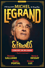 Billets Michel Legrand and Friends (Le Grand Rex - Paris)
