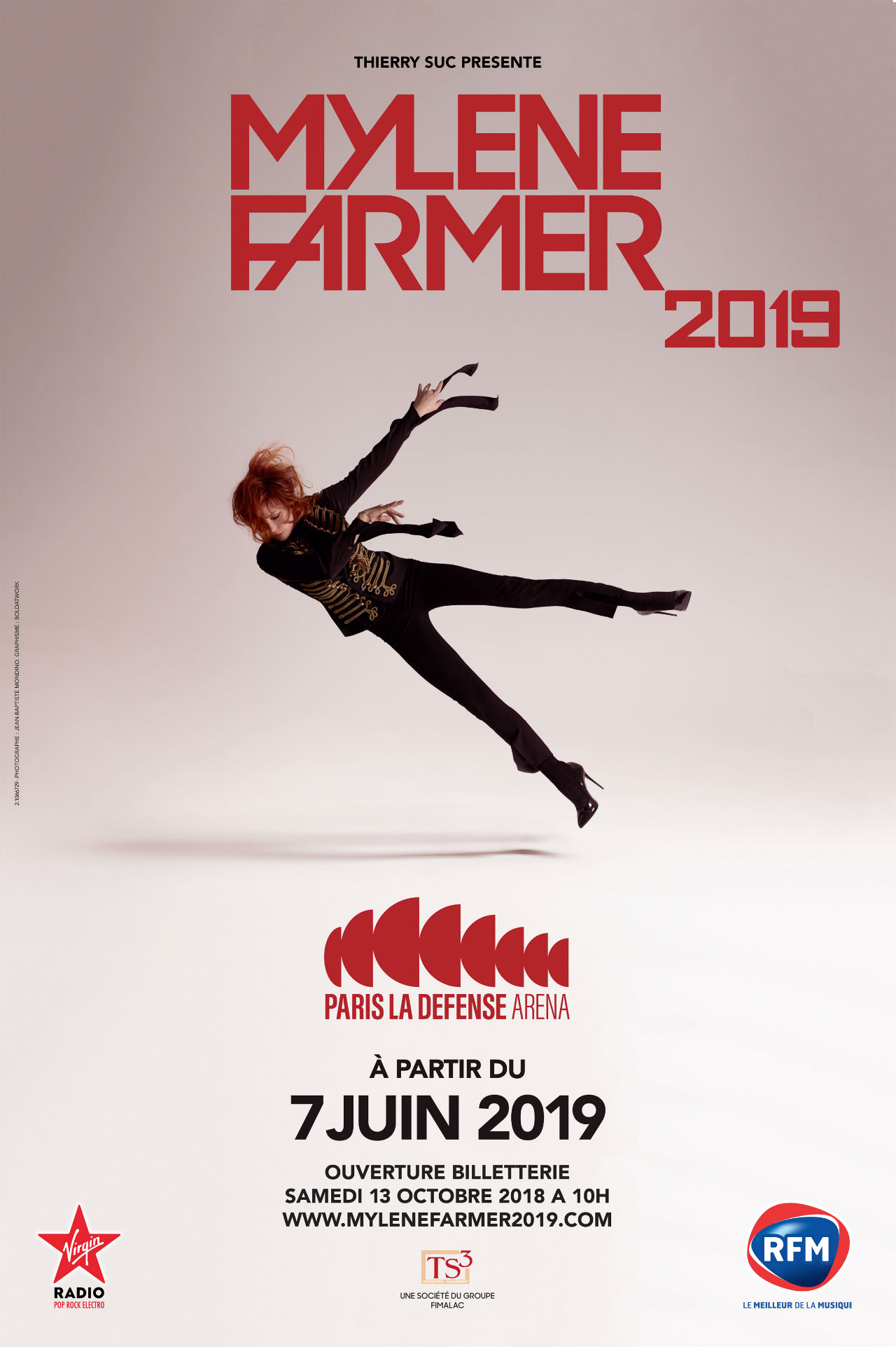 Billets Mylene Farmer (Paris La Defense Arena - Paris)
