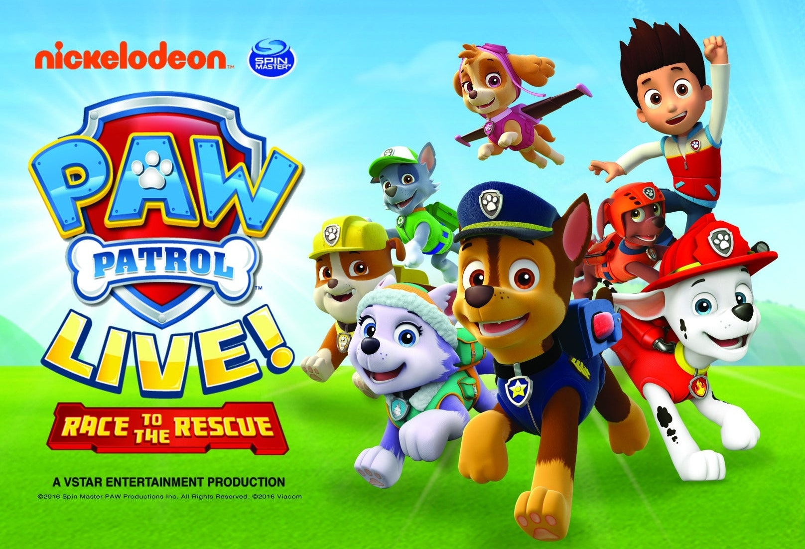 Billets Paw Patrol: Race To The Rescue (First Direct Arena - Leeds)