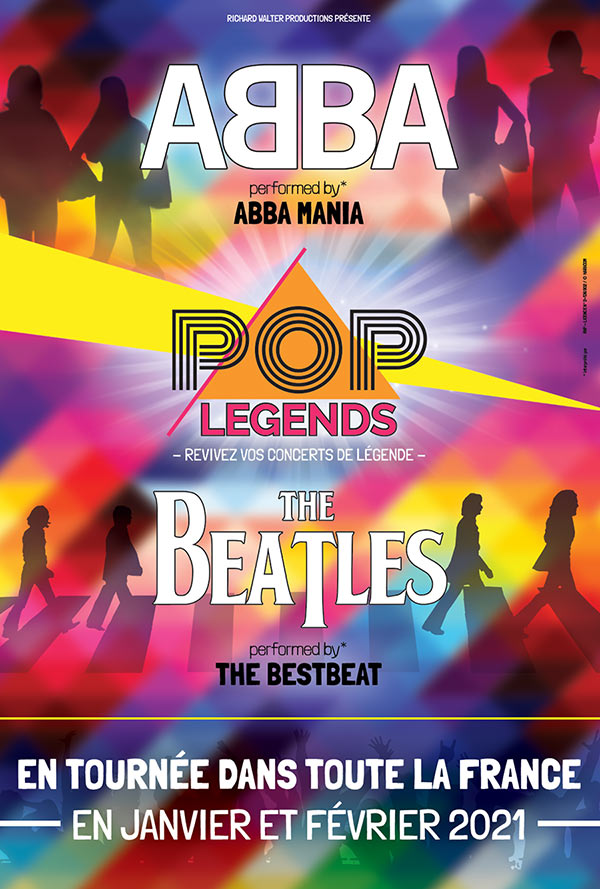 Billets Pop Legends : Abba - The Beatles (Zenith Dijon - Dijon)