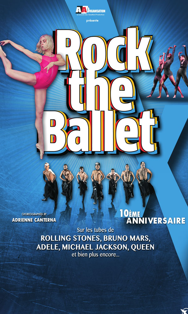 Billets Rock The Ballet X (Casino Barriere Toulouse - Toulouse)