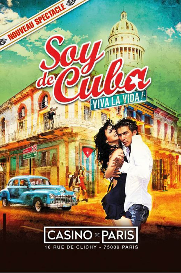 Billets Soy De Cuba (Casino de Paris - Paris)