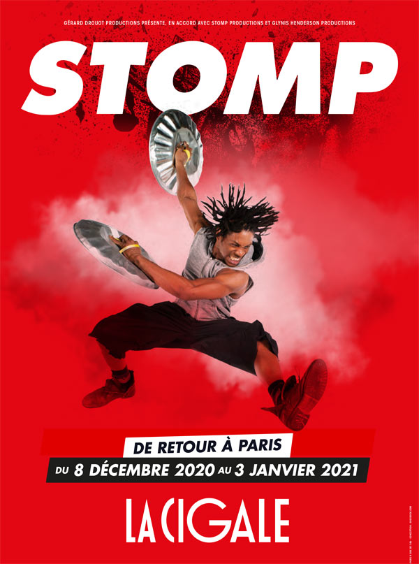 Billets Stomp (La Cigale - Paris)