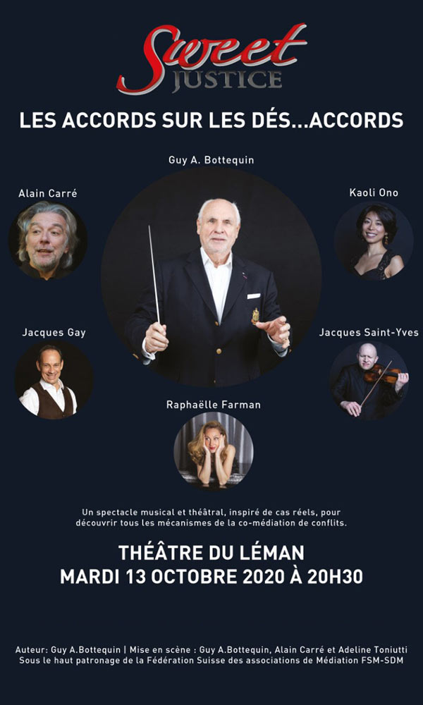 Sweet Justice at Theatre du Leman Tickets