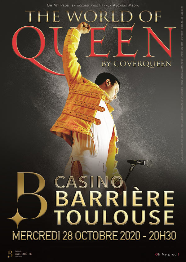 Billets The World Of Queen (Casino Barriere Toulouse - Toulouse)