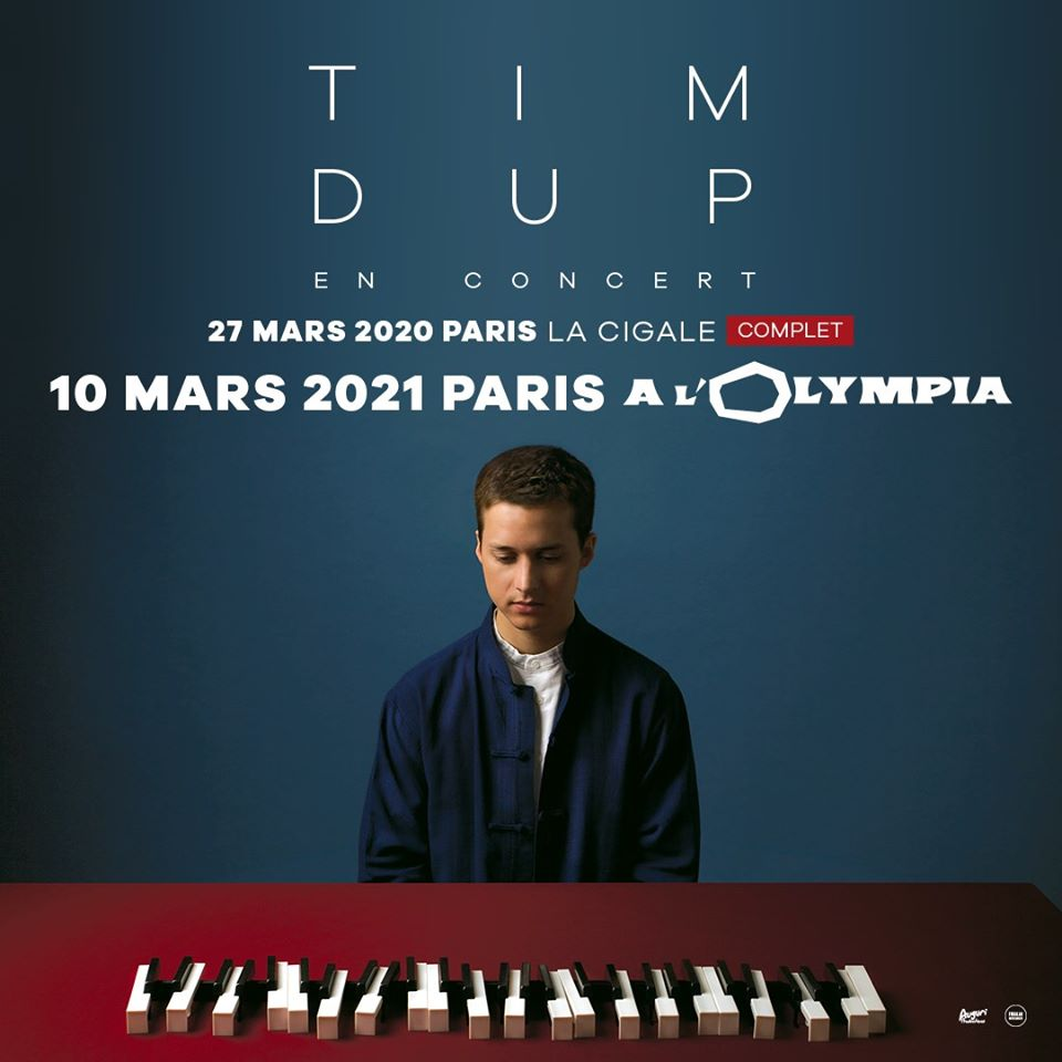 Billets Tim Dup (Olympia - Paris)