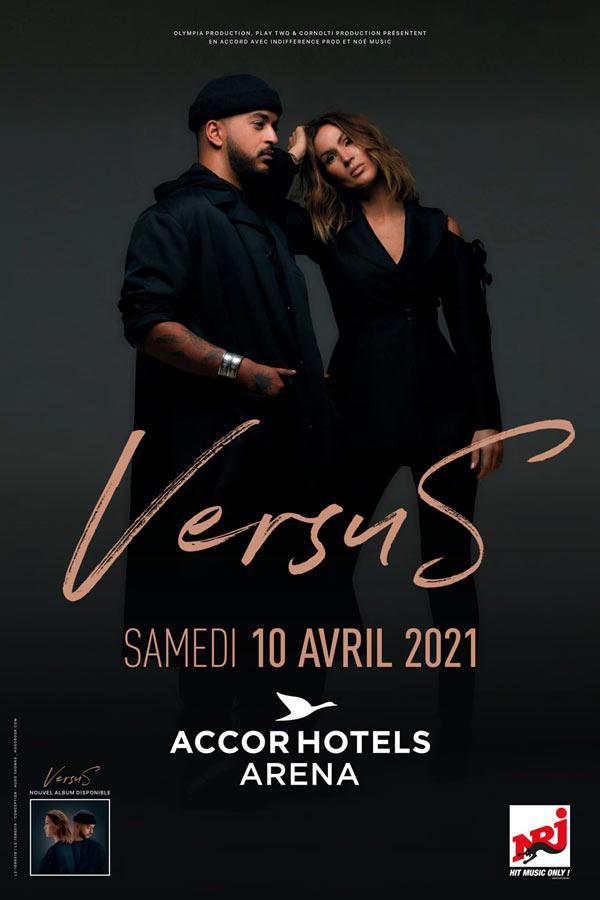 Billets Versus : Vitaa - Slimane (AccorHotels Arena - Paris)