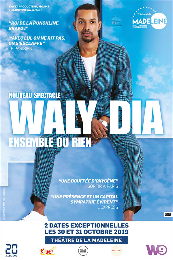 Billets Waly Dia (Casino Barriere Toulouse - Toulouse)
